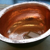 copper basin 45 cm and 34 cm respectively $550 and $520