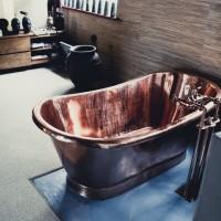 Copper Bath Installed 2012