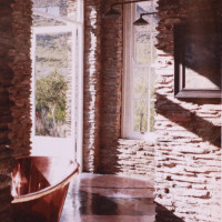 Copper bath Award winning home installation