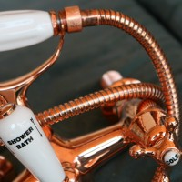 Copper mixer detail