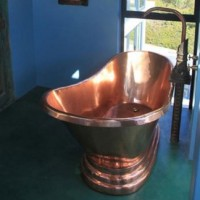 Copper bath Hout Bay 2010