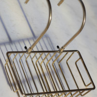 Soap dish available in copper brass or nickel