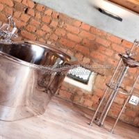 Industrial installation full nickel bath