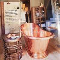 Client installation 2018 copper bath