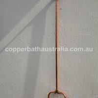 Shower kit surface mount