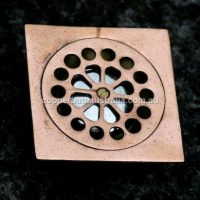Shower waste copper