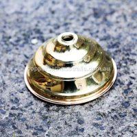 Copper brass shower rose