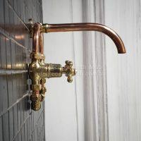 Wall mount copper brass basin mixer R 5,500 2 x Frames R 1,600