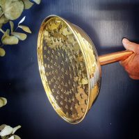 200 mm shower rose available in copper and brass