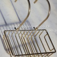 Soap dish available in brass and copper