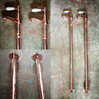Minimalist stand pipes alternative view